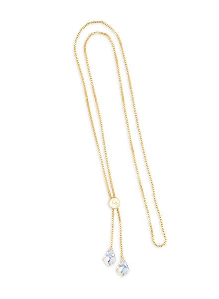 LUCA & DANNI LUCA Lariat Crystal Necklace