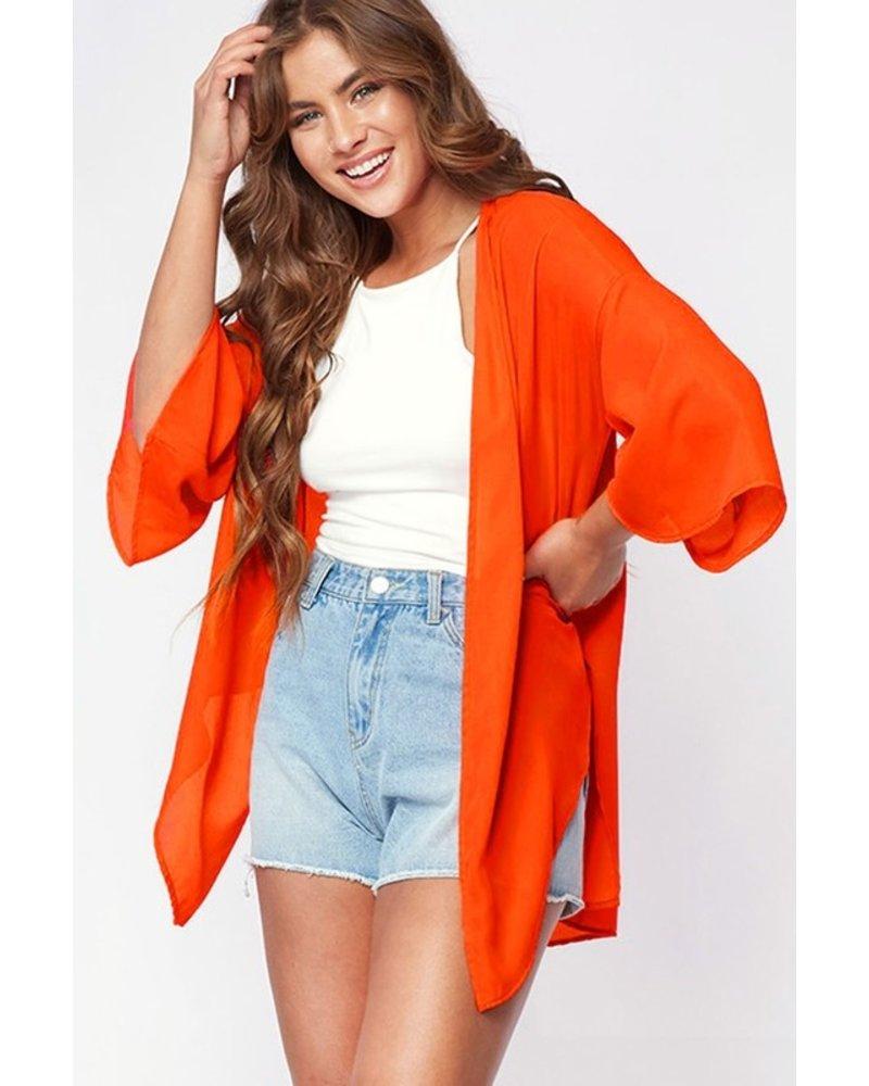 Peach Love Peach Love Kimono