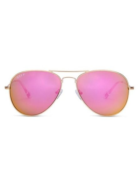 DIFF DIFF Cruz Pink/Gold POLARIZED