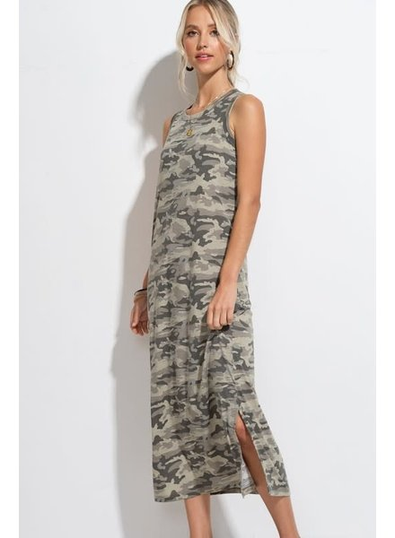 Hyped Unicorn Hyped Camo Tank Dress