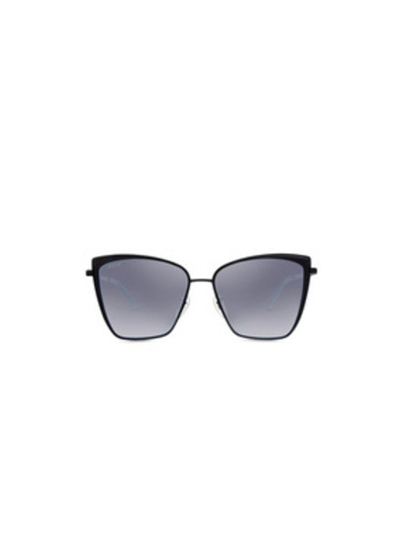 DIFF DIFF Becky Black, Flash Grey NON POLARIZED