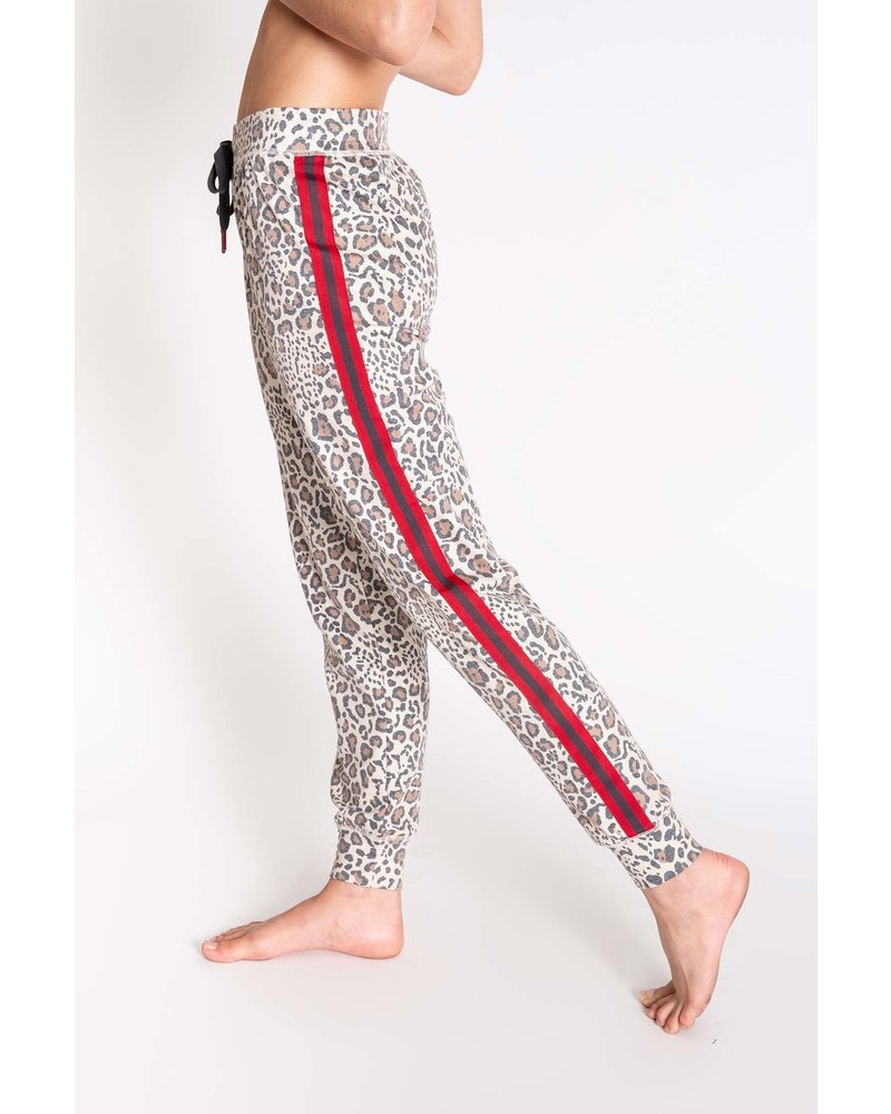 PJ Salvage Wild at Heart Leopard Jogger