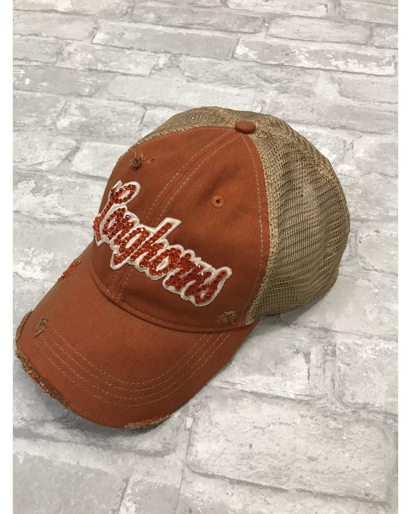 Headhunters Texas Longhorns BLING HAT
