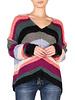 ELAN Elan Rainbow Sweater