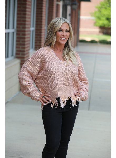ELAN Elan Metallic Sweater