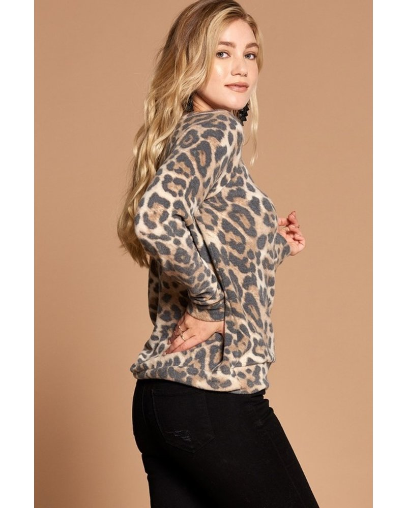Oddi Oddi Leopard Pullover