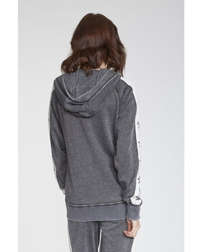 Another Love Another Love Star Hoodie Charcoal