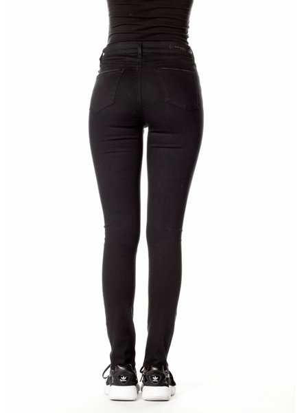 AOS AOS Hilary High Rise Distressed Black