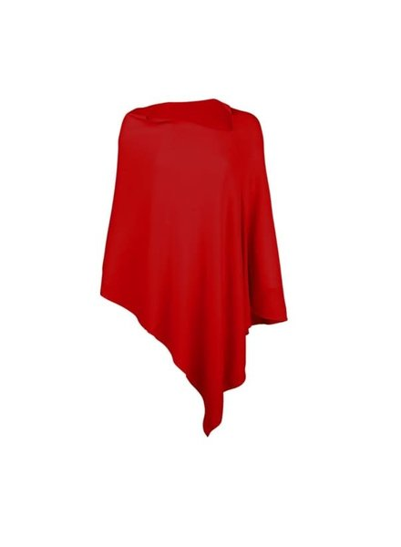 VIV & LOU Viv & Lou Gameday Poncho Red