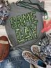 Texas True Threads GAMEDAY Glitter/Leopard Green