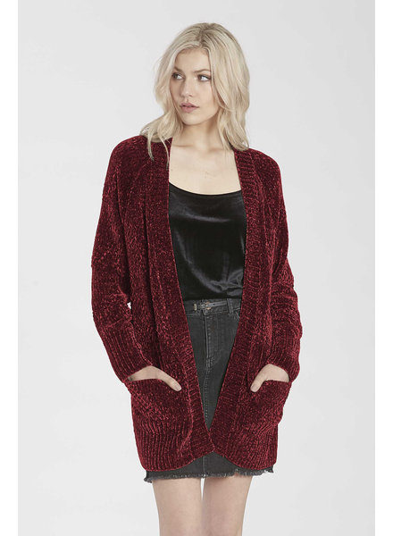Another Love Another Love Chenille Cardigan