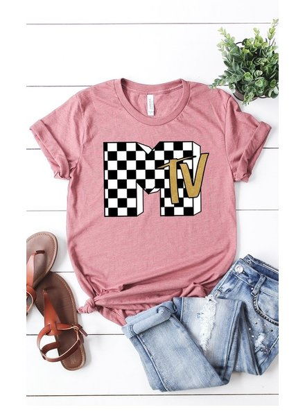 MISC Kissing Tees MTV Pink