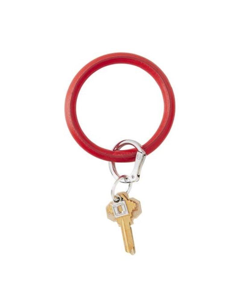 O Venture O Venture Vegan Red Keychain