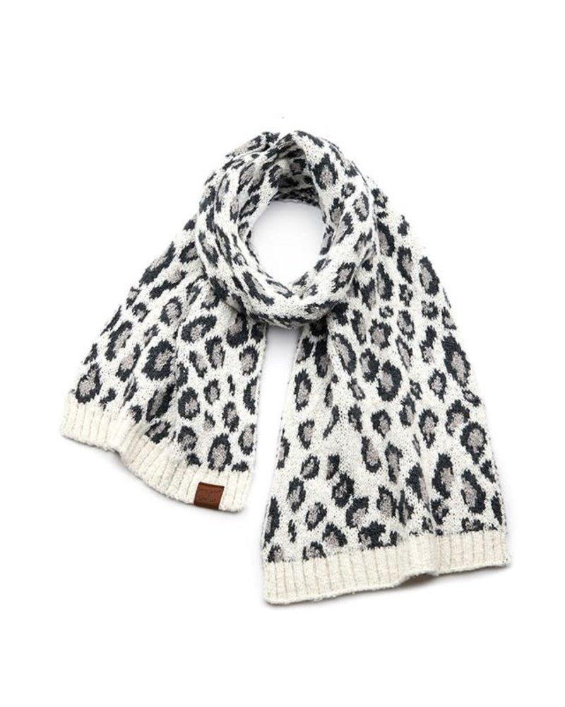 Hana Hana CC Leopard Scarves