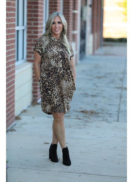Wendy WEN Ellison Leopard Dress