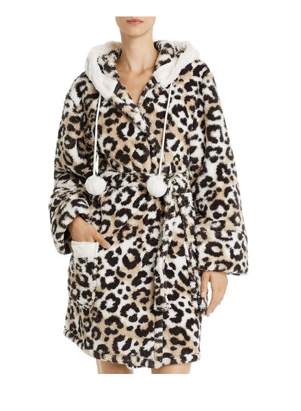 PJ Salvage PJ Salvage Cozy Leopard Robe