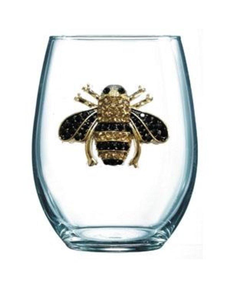 Cork Pops Cork Pops Stemless Glass Bee