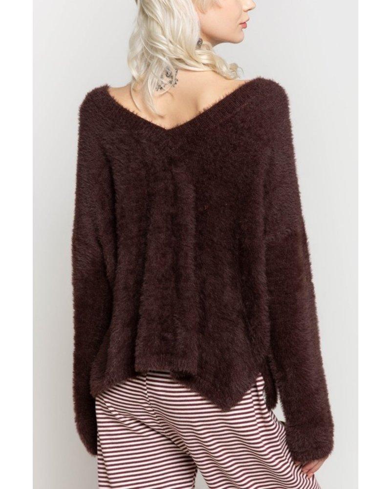 POL POL Hershey Coco Sweater