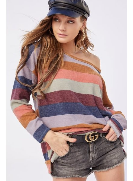 BIBI Bibi Striped Sweater