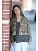 EEsome Eesome Leopard Cropped Jacket