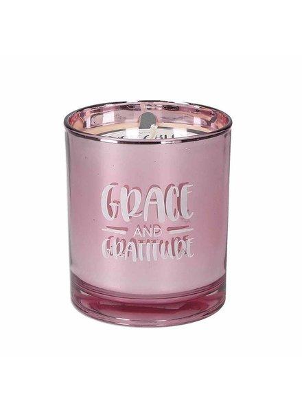 Sweet Grace Sweet Grace & Gratitude Candle Pink