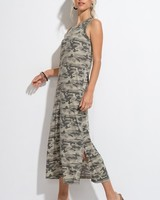 Hyped Unicorn Hyped Camo Maxi Tank Dress