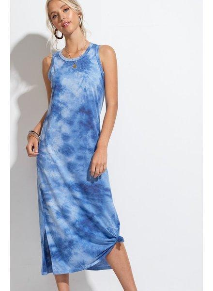 Hyped Unicorn Hyped Tank Dress Tie Dye