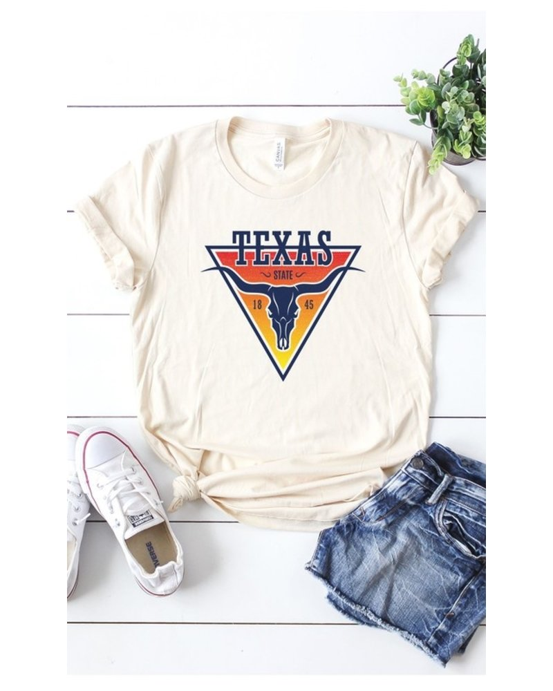 Kissed Apparel Kissed Graphic Tee Texas
