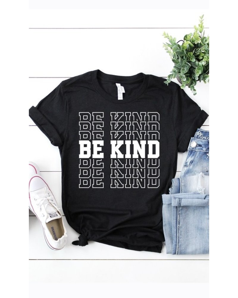 Kissed Apparel Kissed Be Kind Graphic Tee