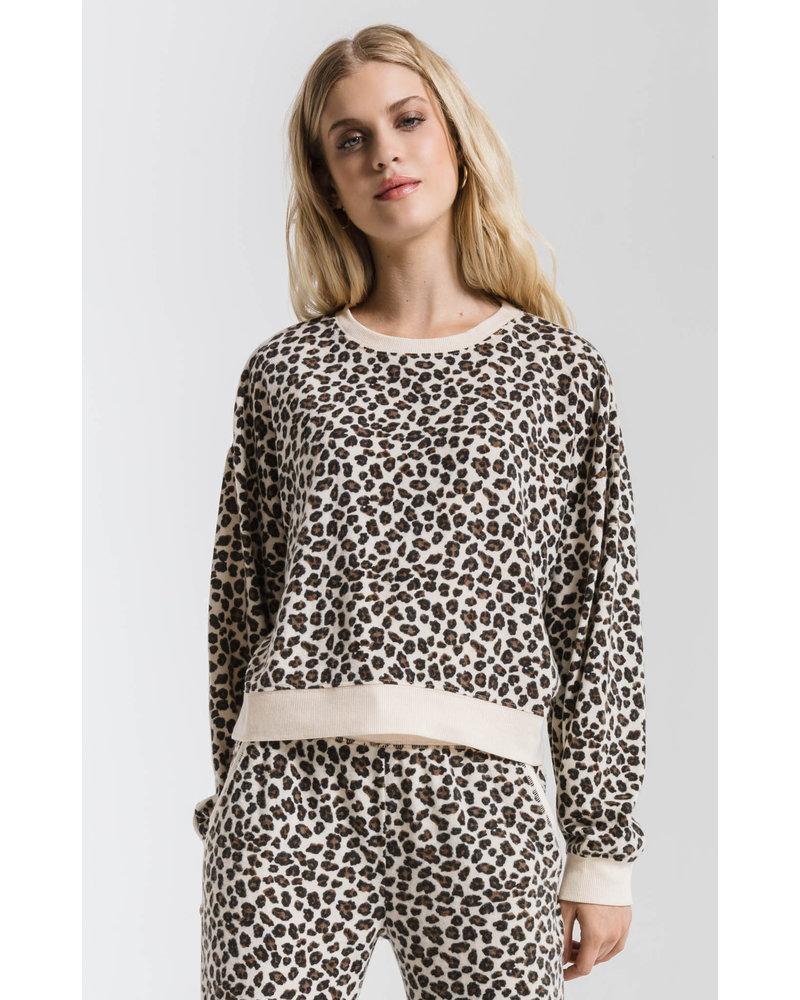 Z Supply Z Supply Multi Leopard Pullover