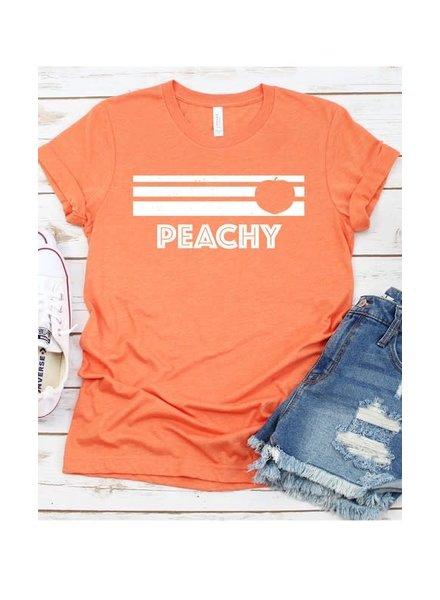 Kissed Apparel Kissed Peachy Tee Heather Orange