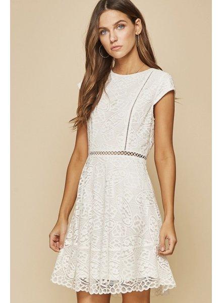 Wendy WEN Lace White Dress