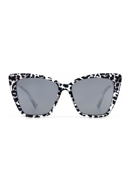 DIFF DIFF Becky II Grey Leopard NON POLARIZED