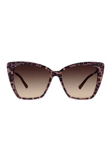 DIFF DIFF Becky II Leopard Tortoise Brown NON POLARIZED