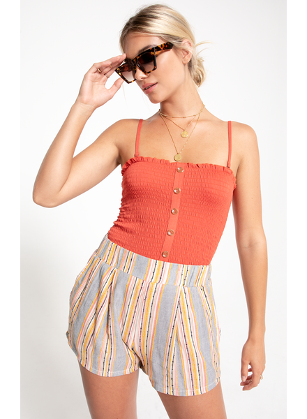Others Follow Others Follow Poolside Short Coral