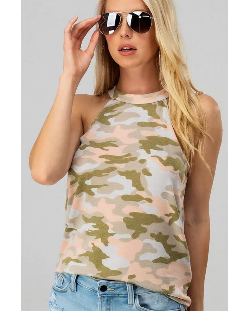 Trend Notes Trend Notes Halter Style Top