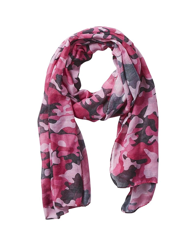 Tickled Pink Tickled Pink INSECT Shield Scarf  CAMO PRINT