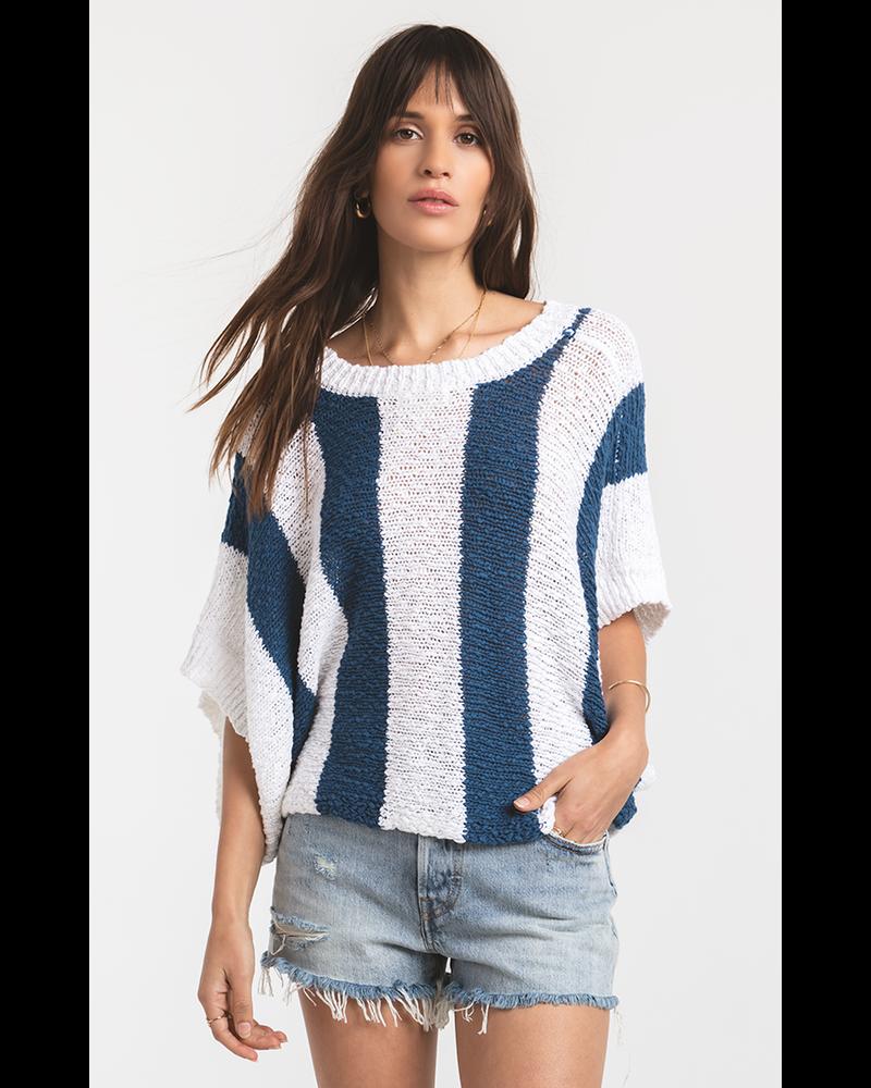 Rag Poets Rag Poets Legian Striped Summer Sweater