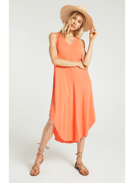 Z Supply Z Supply Reverie Dress Coral