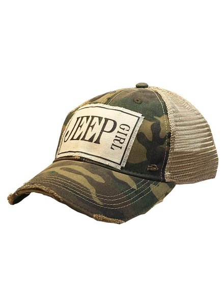 Vintage Life Vintage Life Jeep Girl Ladies Hat Camo