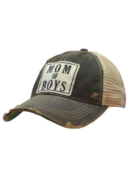 Vintage Life Vintage Life Mom of BOYS Ladies Hat Charcoal