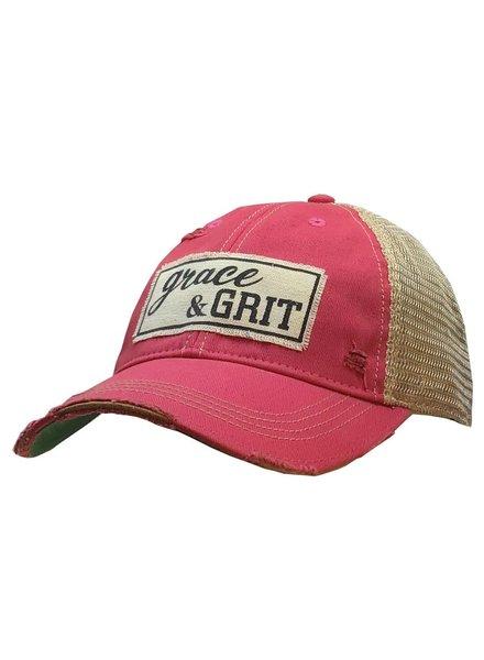 Vintage Life Vintage Life Grace & Grit Ladies Hat Pink
