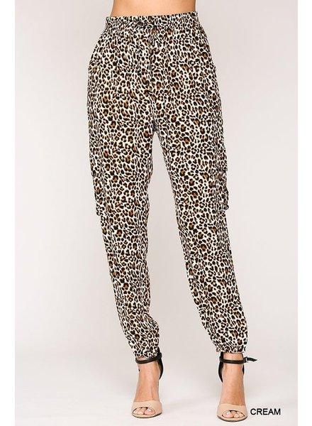 Gigio Gigio Leopard Jogger Pants
