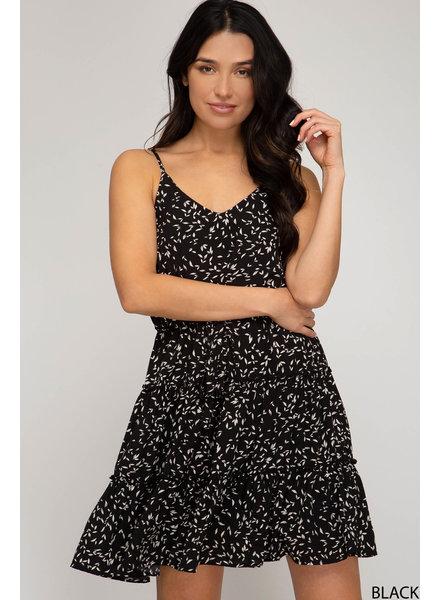 She & Sky She & Sky Cami Dress Black