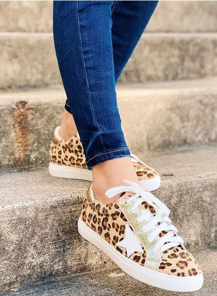 MISC Appleblossom DALE Sneakers Cheetah/Gold