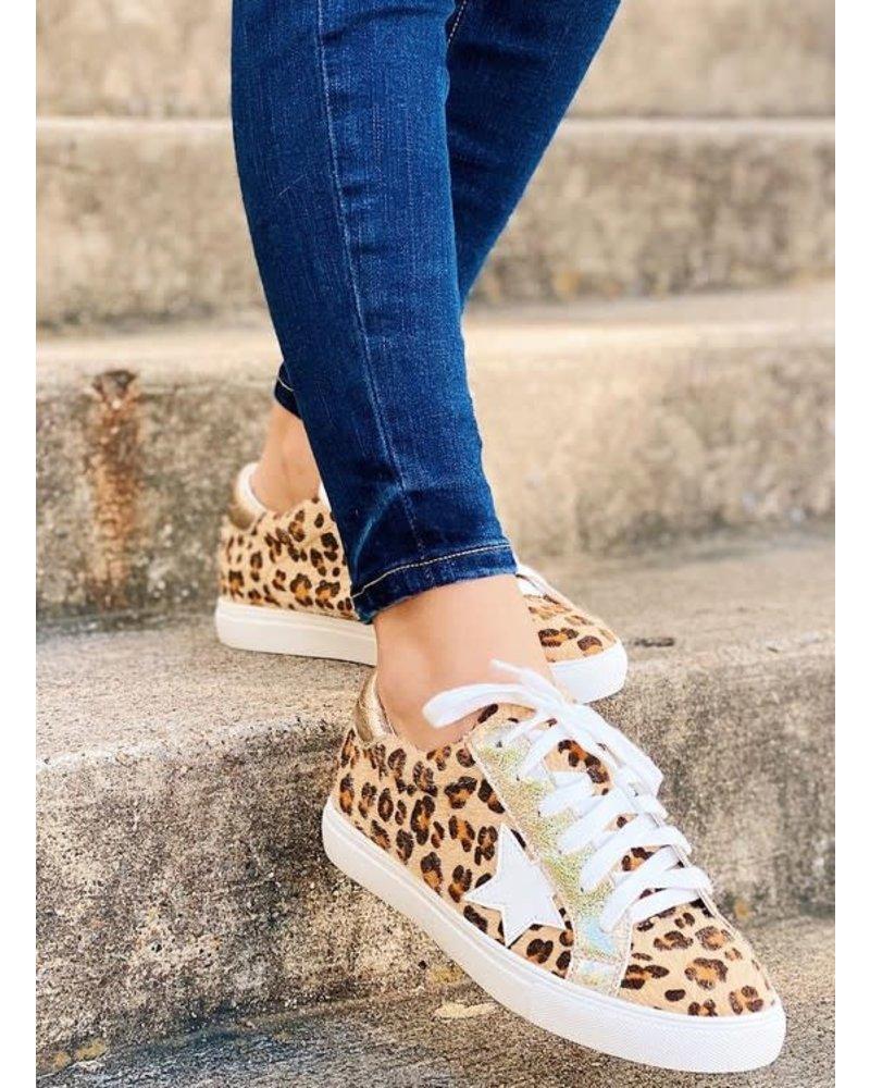 MISC Appleblossom DALE Sneakers Cheetah/Gold