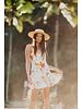 XIX PALMS XIX Palms Dominican Ruffle Mini Dress