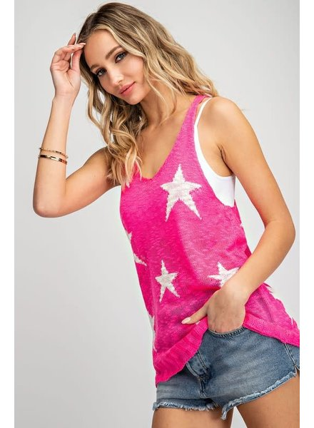 EEsome Eesome Pink Tank Lightning