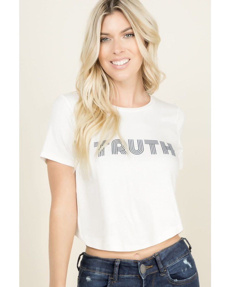Young at Heart Young at Heart TRUTH Tee White