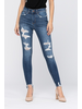 Judy Blue Judy Blue Hi Waist Destroyed Skinny Denim